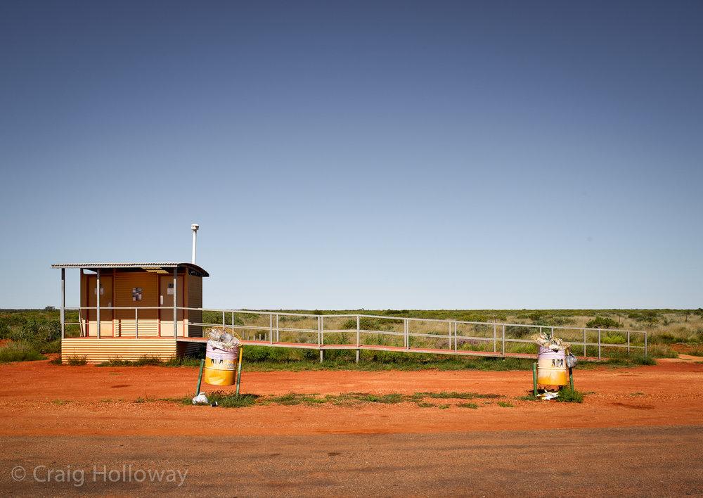 Toilet Stop, N.W. Coastal Hwy