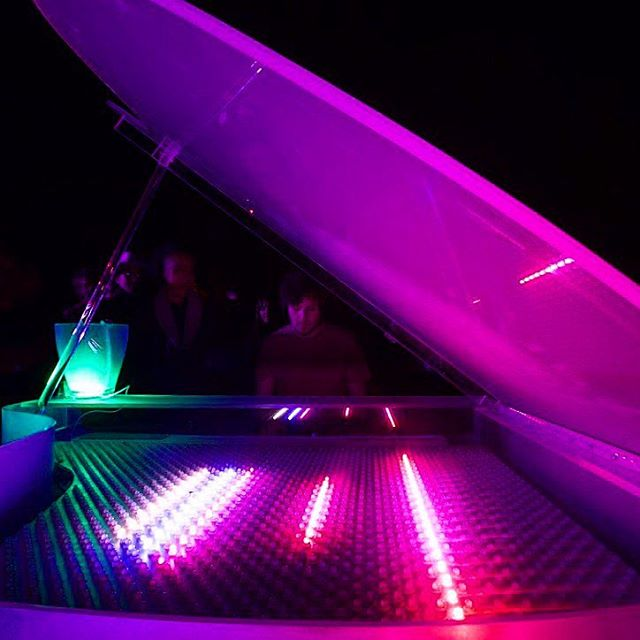Tonight is the first of three nights Luminescent Grand will be at @sfbotanicalgarden for he night garden event! If you haven't gotten your tickets yet betta scoop me up quick! Link in the bio! 🌺🎹🌺. . . . . . . #piano #led #lights #flowers #botaniclegardens #sanfrancisco #goldengatepark #pianist #music #classicalmusic #jazzpiano