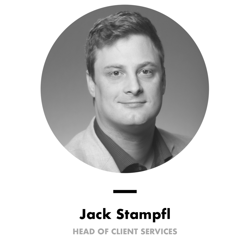 Jack Stampfl, Head of Client Services