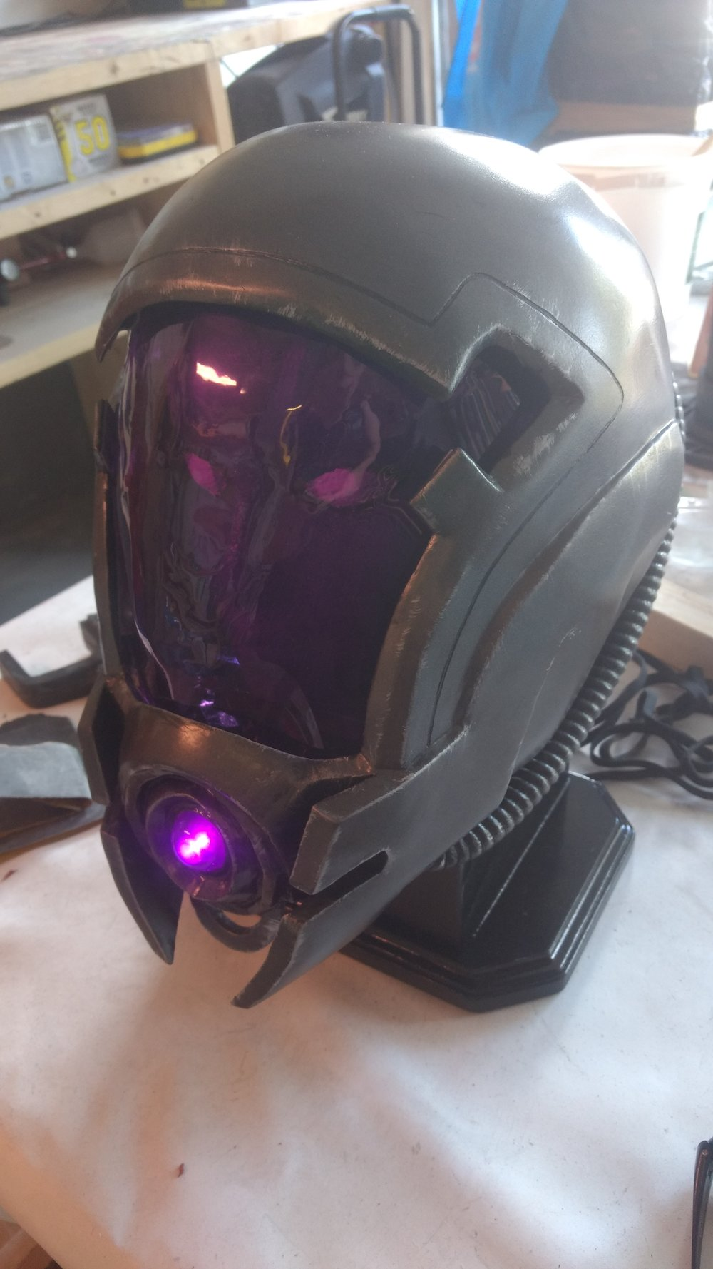 Tali Helmet - Mass Effect