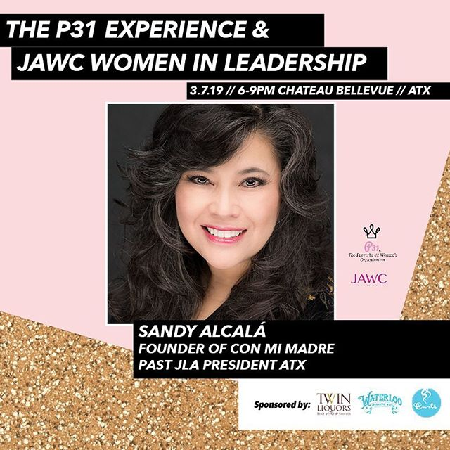 Get to know panelist Sandy Segura Alcalá!  Sandy is a native Austinite who grew up in a local family owned printing company. Sandy's experience includes being a Co-Founder and the founding Executive Director of @conmimadre, Past President of @thejuniorleagueofaustin (JLA) and co-owner of @epiceventdesign with her best friend and business partner Cathy Northcutt. As an effect of her leadership all of these organizations have flourished and grown in significant ways.  Sandy continues to have a long-term commitment in volunteering and supporting organizations which focus on children and education. In addition to JAWC and JLA, Sandy is also a member of the @wslaustin_org , Texas Exes, Hispanic Women's Network of Texas,  and International Live Events Association - Austin Chapter. She enjoys spending time in her garden, tailgating at Texas football games, hosting family gatherings and loves anything Disney! Sign up at JAWC.org!