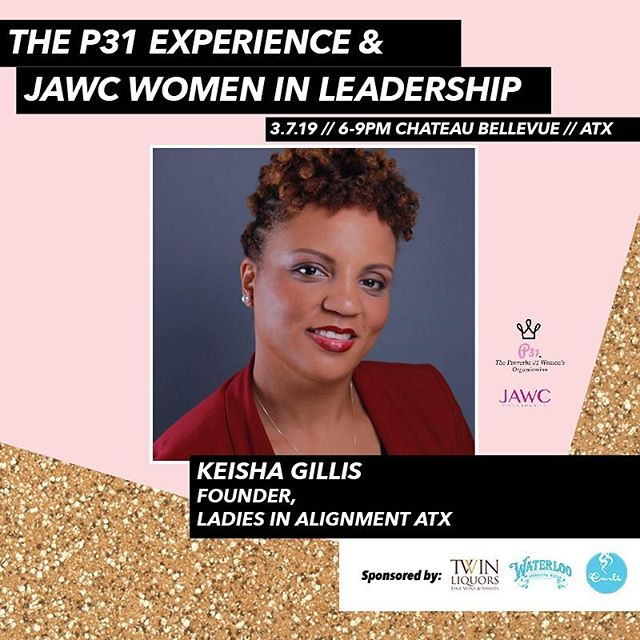 Count down to Thursday! Come see @queen_of_budgeting Keisha Gillis speak on our joint panel event! Keisha is a leader in community engagement in Austin. She is the founder of Ladies in Alignment, sits on the board of Youth Rise Texas, Bossbabes ATX community outreach, and the The League of Women Voters Austin. We are excited to hear about her experiences in community outreach leadership! @lwvtexas @bossbabesatx @youthrisetx @ladiesinalignmentatx #atx #atxwomen #atxwoman #atximpact #atxcommunity #austintexas #austinlocal #austin #sxsw2019 #sxswpanel #sxsw #changemaker