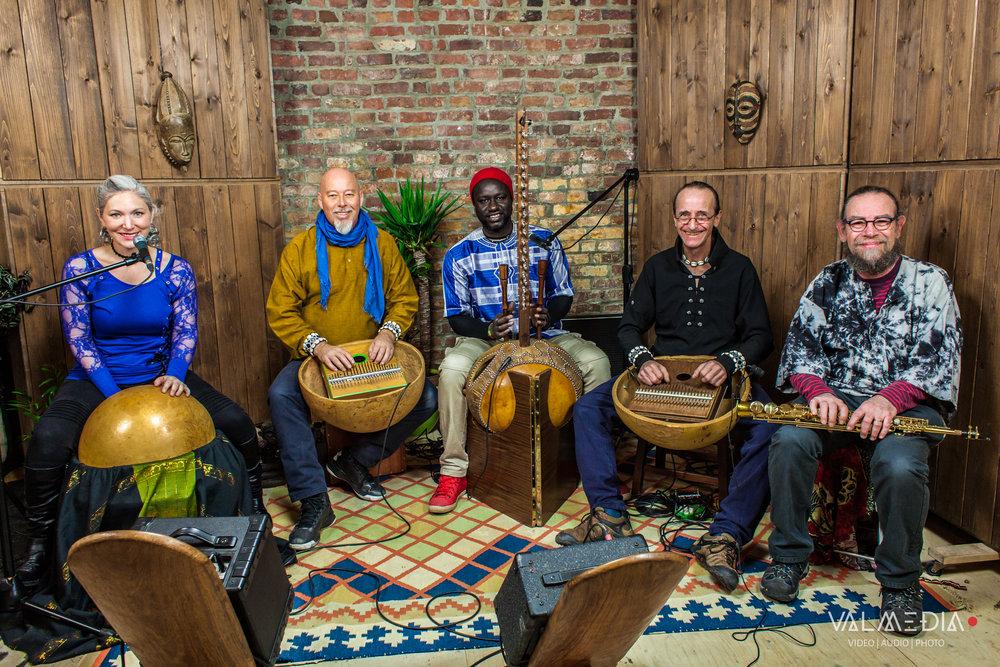 Sanza Percussions et Sadio Sissokho - Montréal