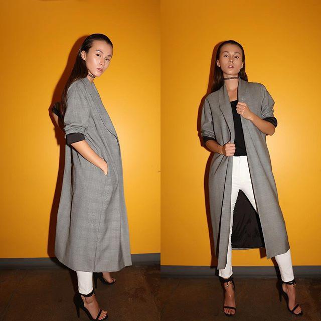 L E G E N D A R Y Baldwin Duster  pic: @fotomn1 stylist: @marcusjai1 mua: @valerievonprisk #kheirsannai #minimalistic #fashionista #fashion #heelsaddict #instafashion #womensfashion #instyle #ootd #ootdfashion #streetfashion #wwd #duster #dustercoat #plaid #fashionstylist