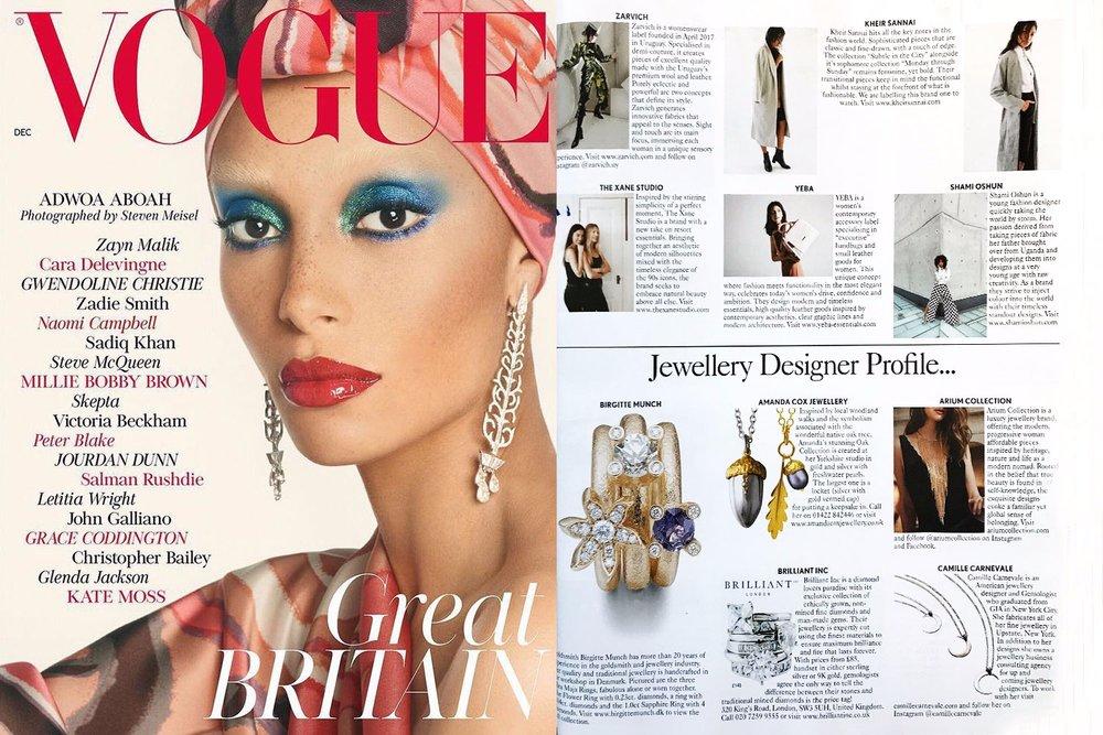 British Vogue December Issue 2017