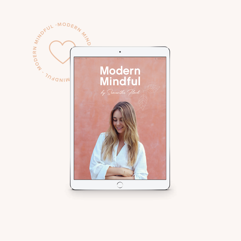 Modern Mindful Coaching Program  - A 6 step program to building a Modern Mindfulness practice, aimed to limit daily Anxieties.