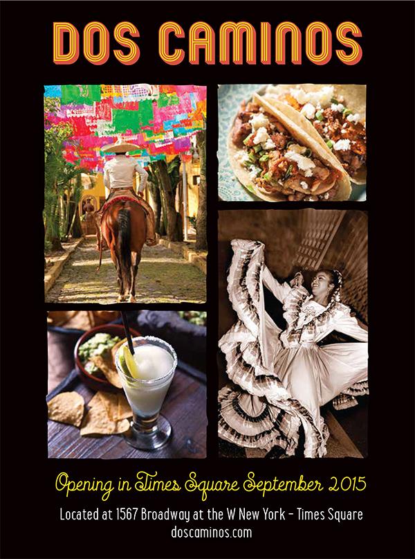 Concierge Magazine, Dos Caminos, Print