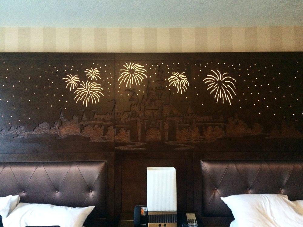 Disneyland Hotel Headboard