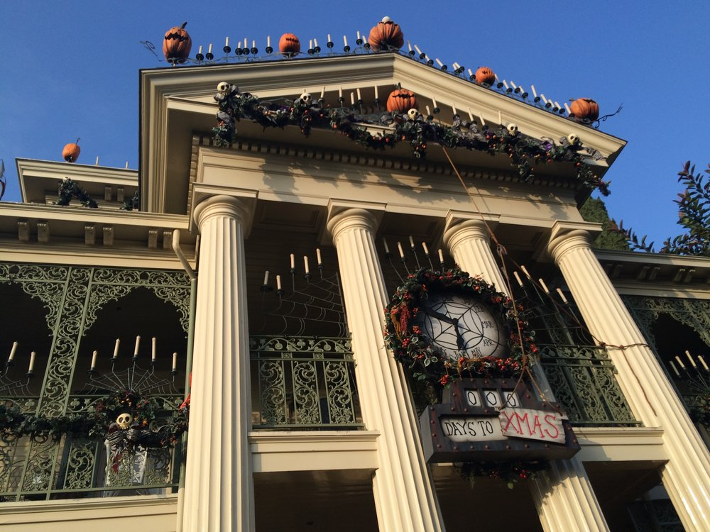 haunted mansion holiday new orleans square jack skellington nightmare before christmas