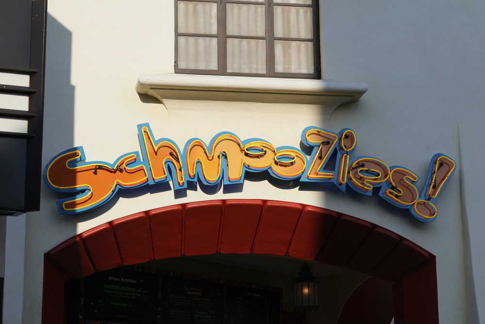 schmoozies dca disneyland