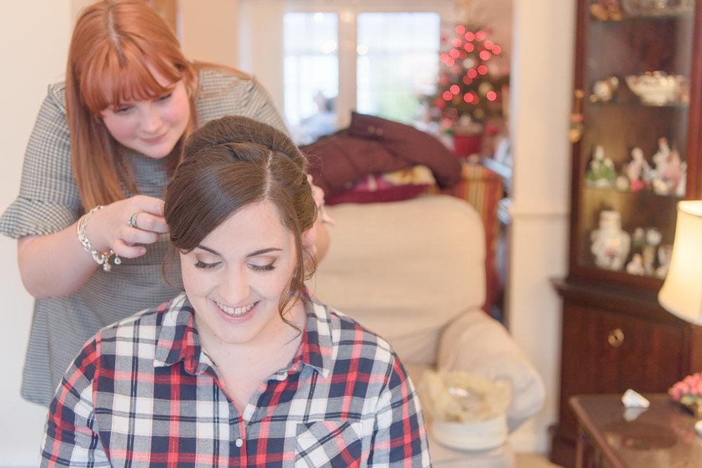 Bridal hair Berkshire