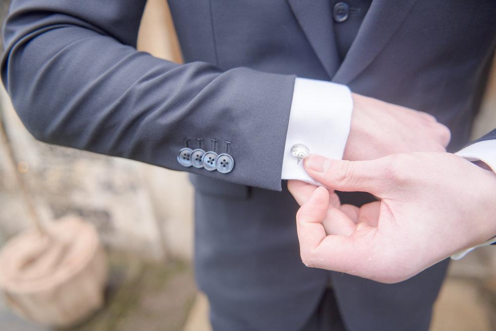 Groom cufflinks