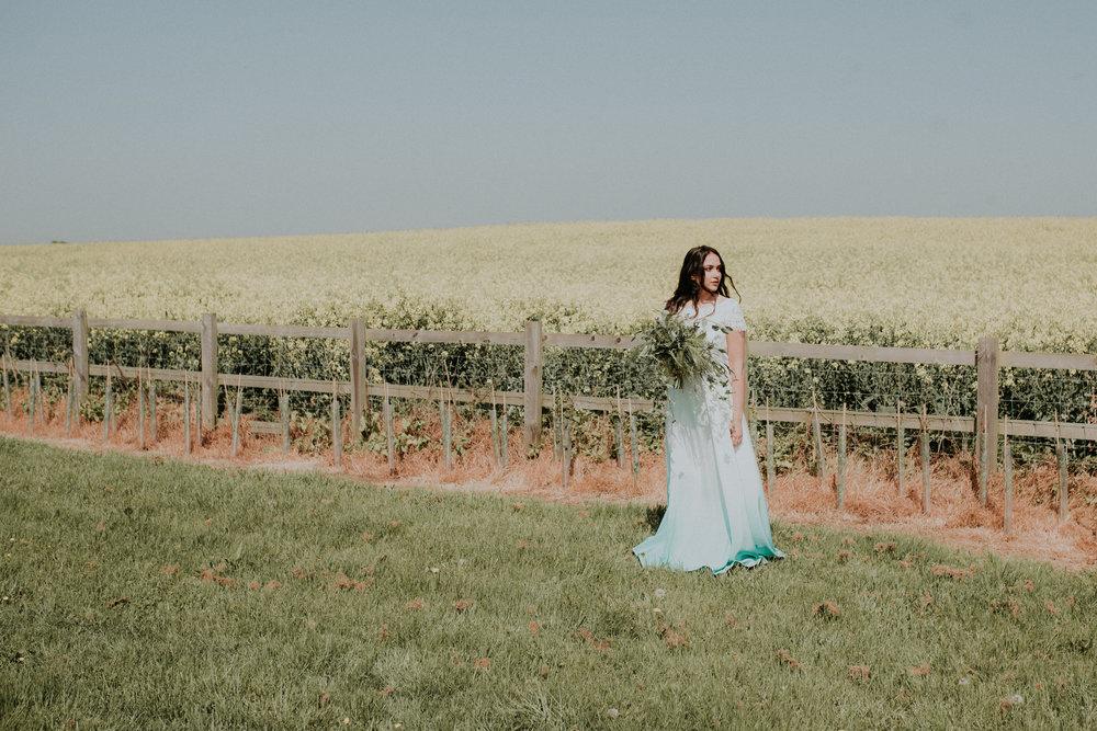 Boho wedding dress Oxfordshire
