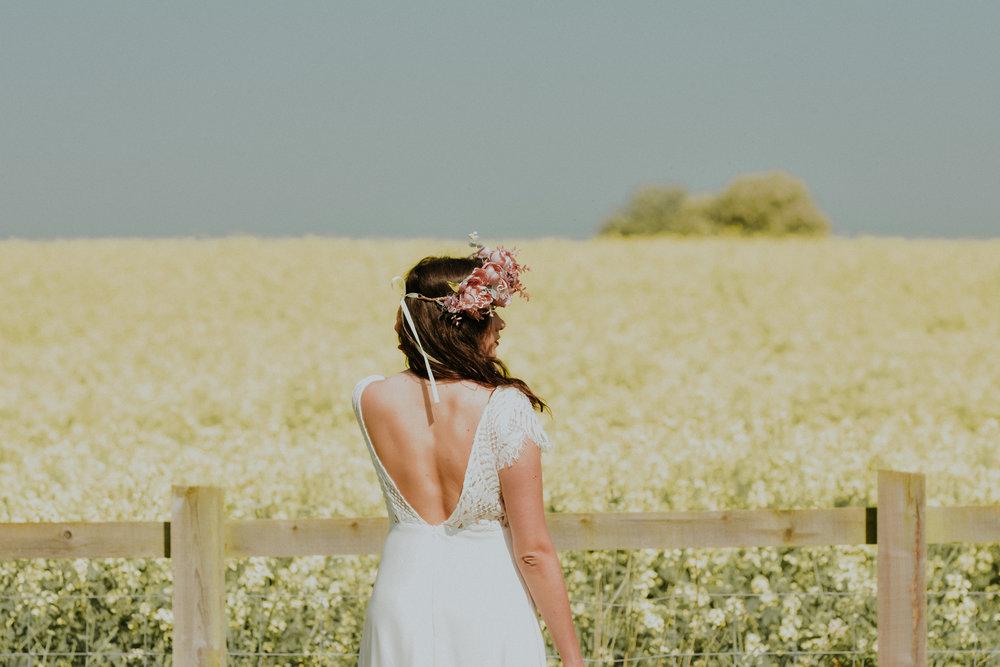 Outside Bride