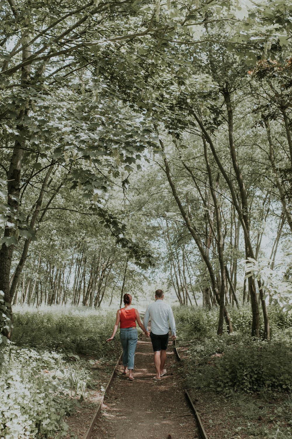 Engaged Couple Berkshire