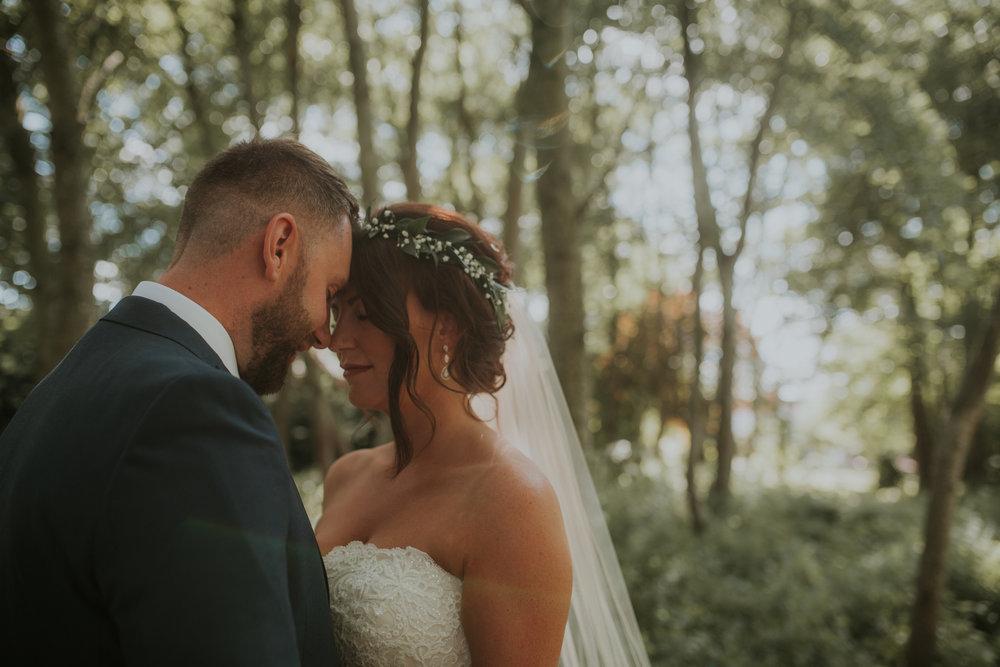 Old Bell Hurley Wedding Couple