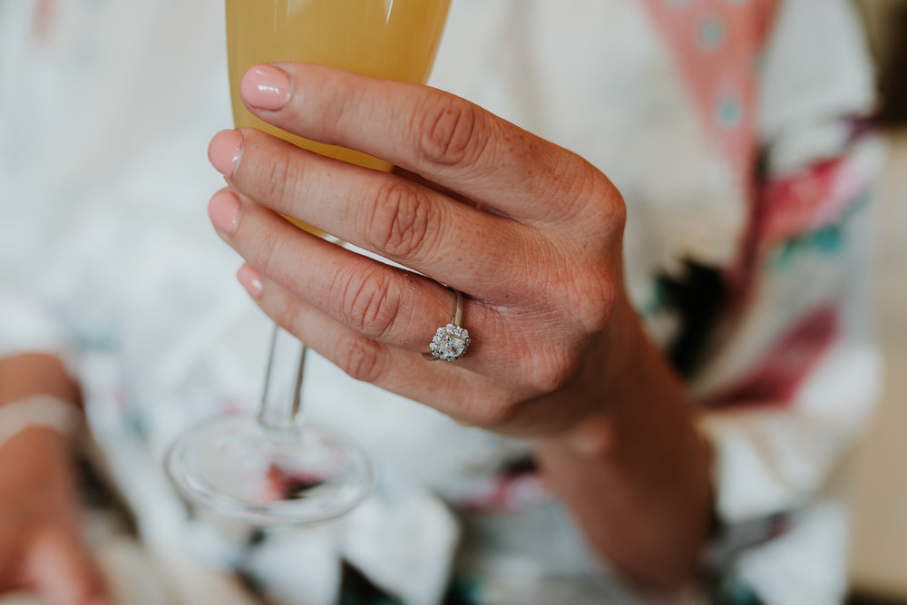 engagement ring at Olde Bell Hurley