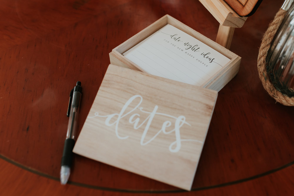 wedding date night cards