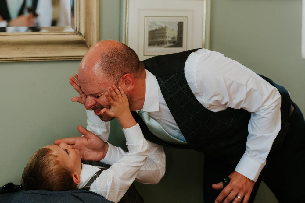 fun wedding photos Oxfordshire
