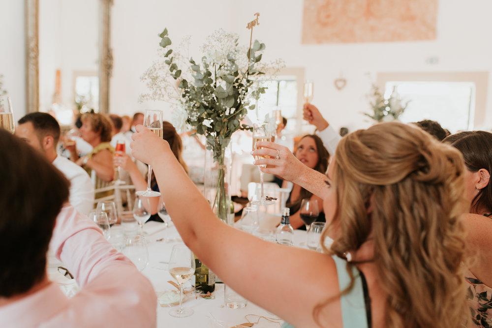 wedding toast Oxfordshire