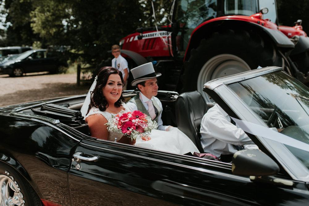 wedding car Berkshire