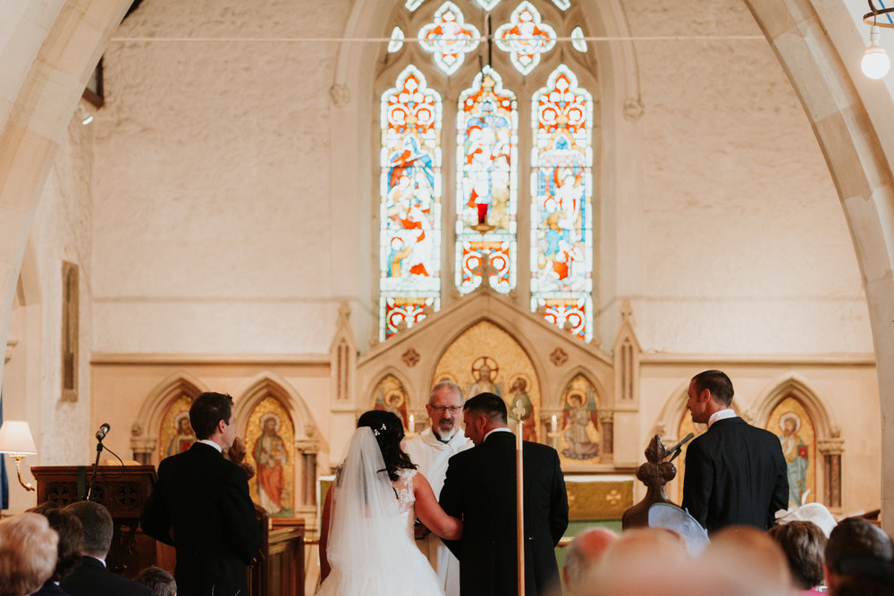 church wedding Berkshire