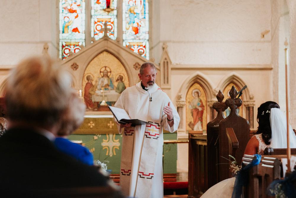 Church wedding West Reading