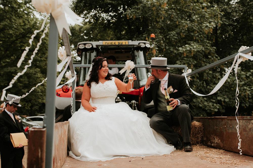 Farm wedding Berkshire