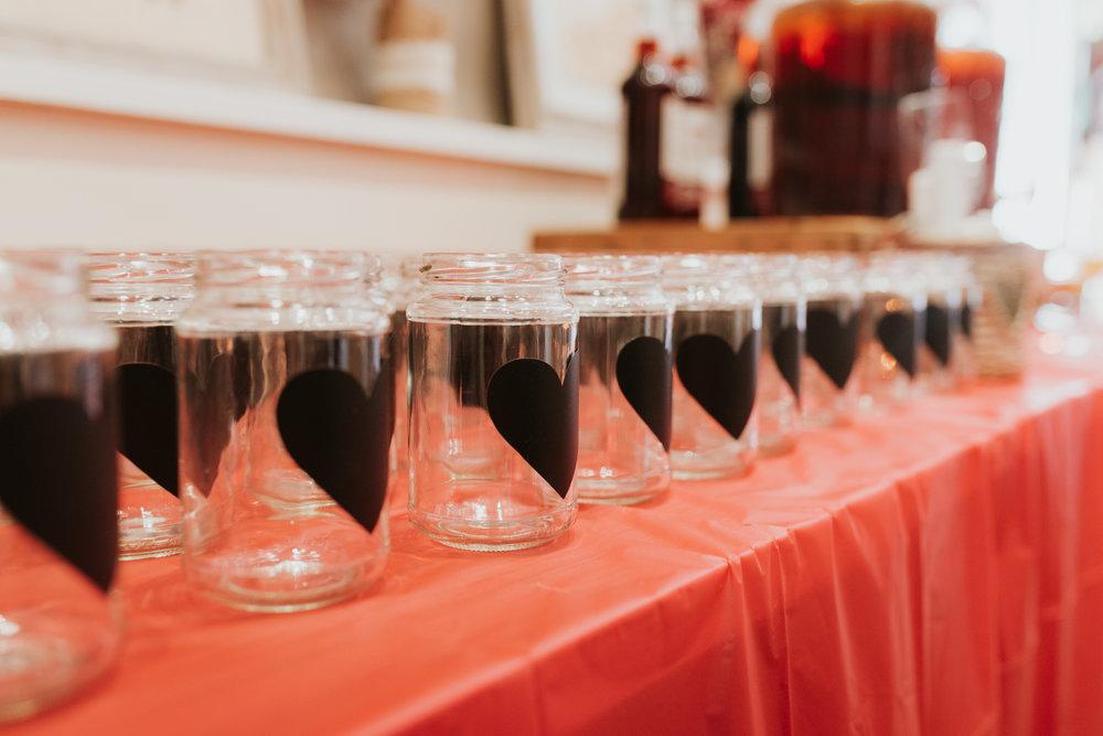 wedding pimms station