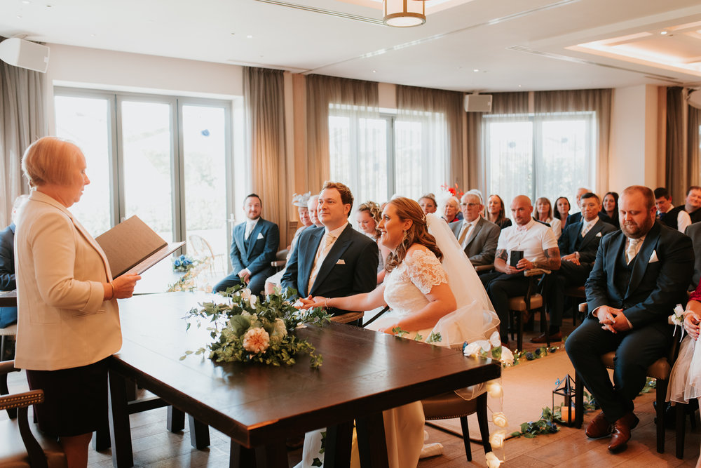 Great House Sonning wedding ceremony