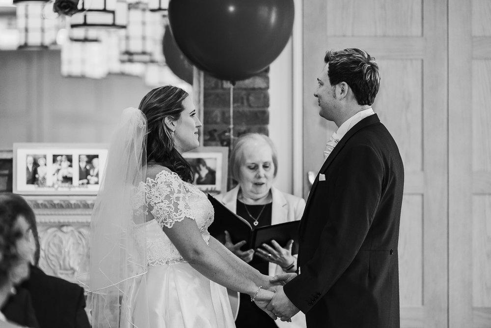 Wedding vows Berkshire wedding