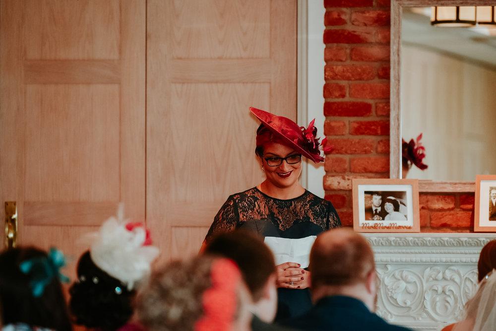 Wedding ceremony reading Berkshire