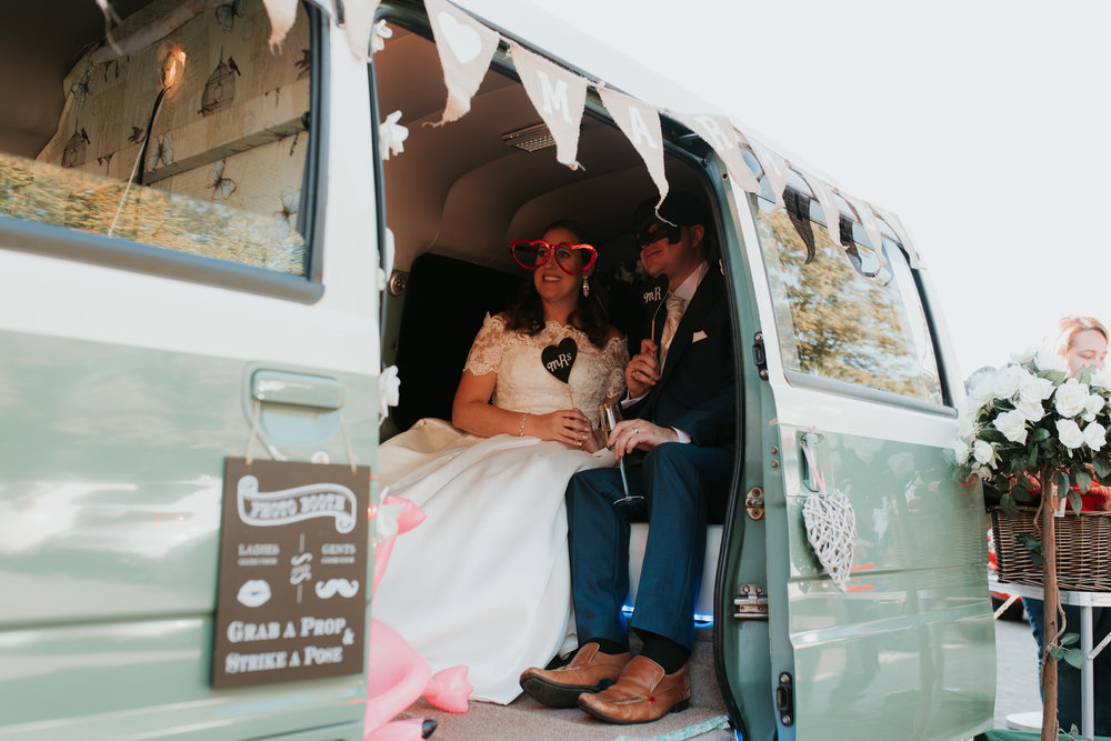 camper van photo booth Sonning