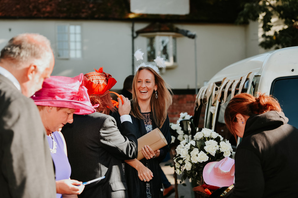 wedding guest Sonning