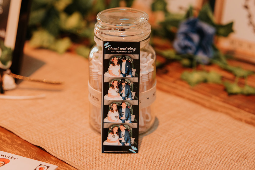 Bride and Groom photo booth photos