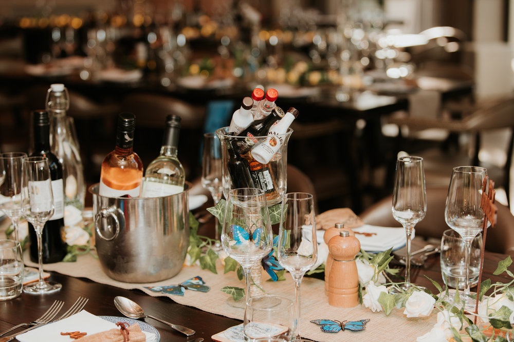 Great House Sonning wedding tables