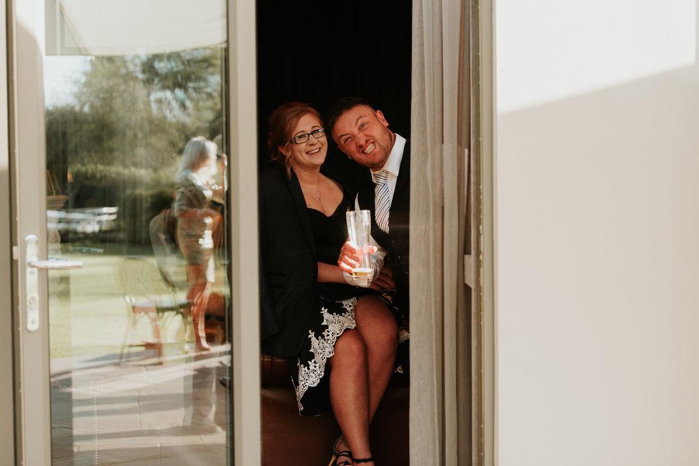 fun wedding photographer Reading