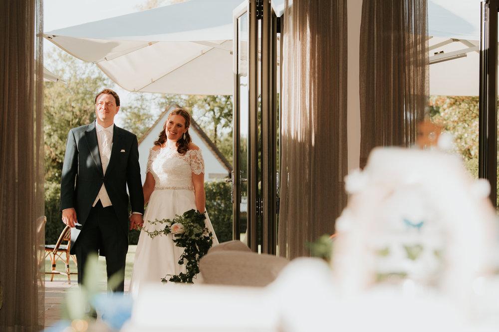 Great House Sonning wedding couple