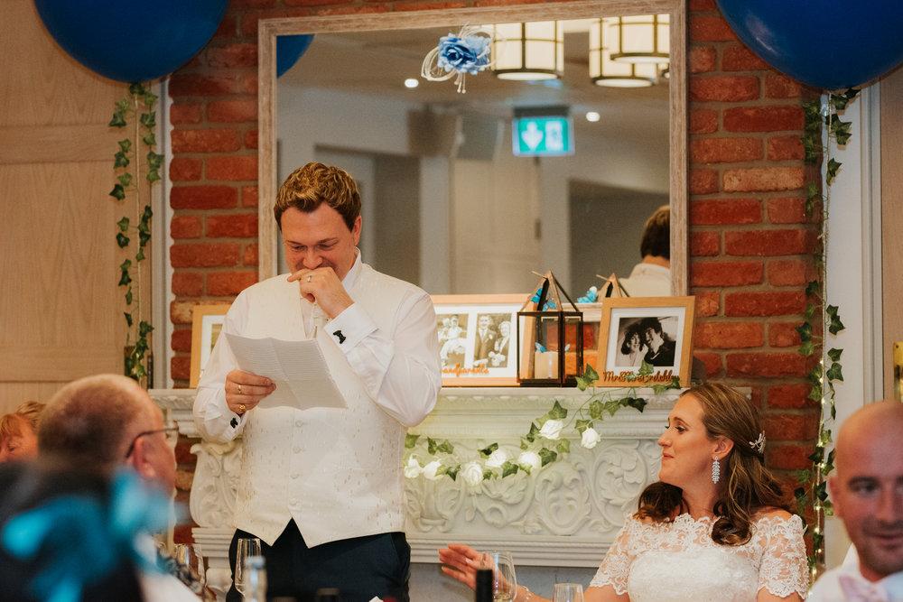 emotional wedding speech