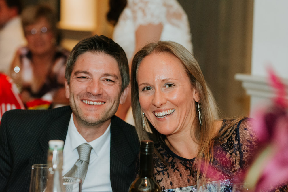 wedding guests Great House Sonning