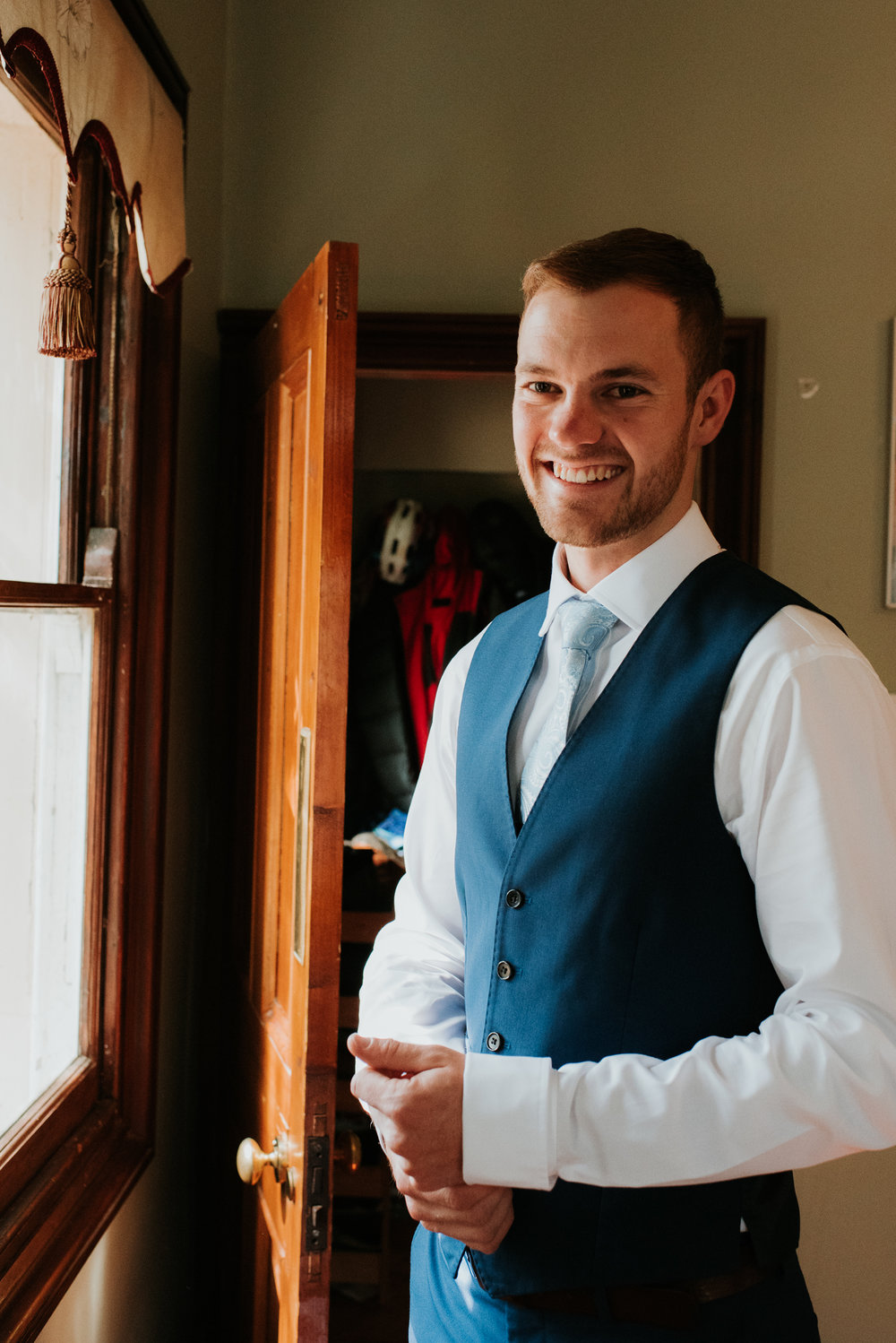 Groom portraits Wokingham