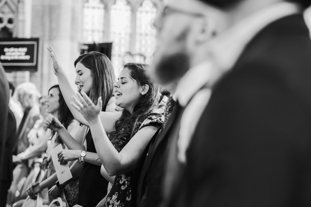 documentary wedding photographer Wokingham