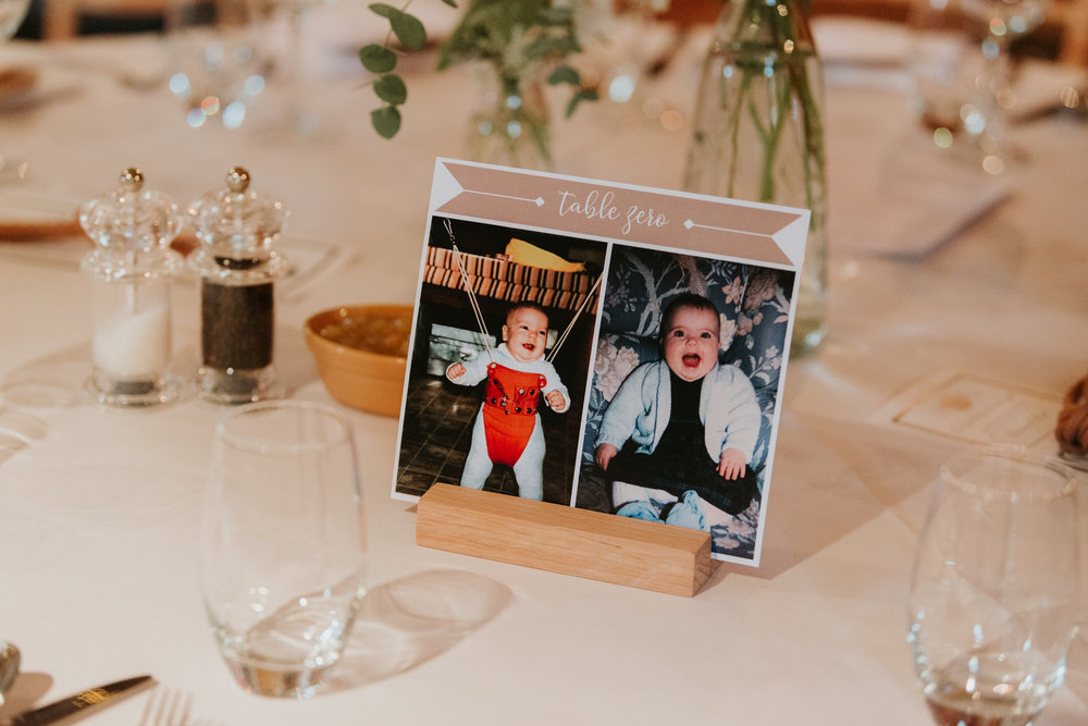 wedding table names with photos