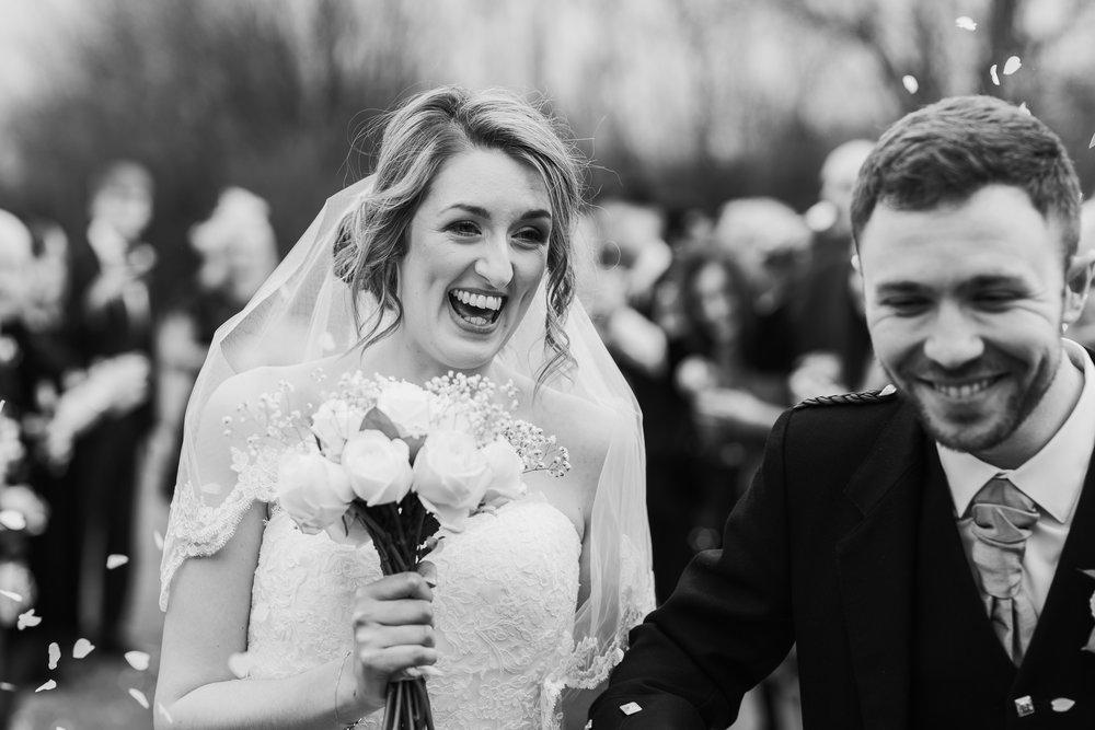 Recommended wedding photographer Wokingham