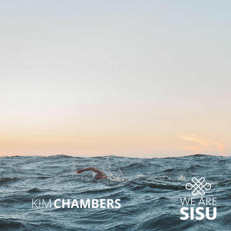 Kim Swims to the Other Side of Darkness - The Story of long distance swimmer  Kim Chambers