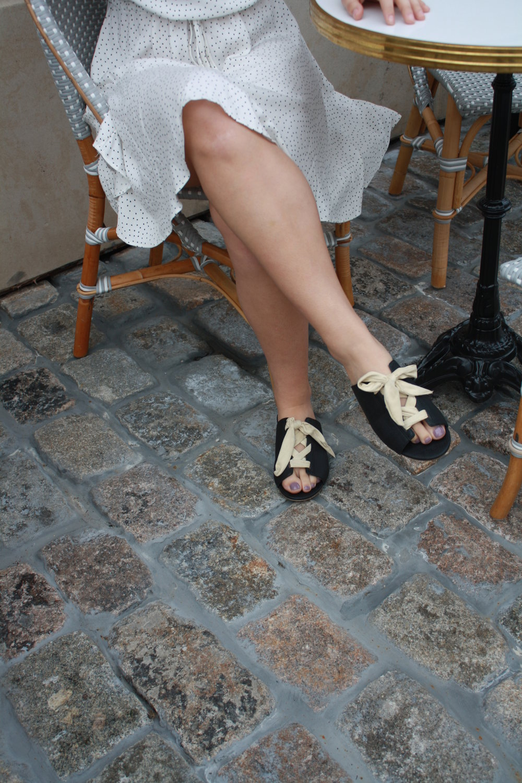 Dress: MinkPink; Shoes: Matisse