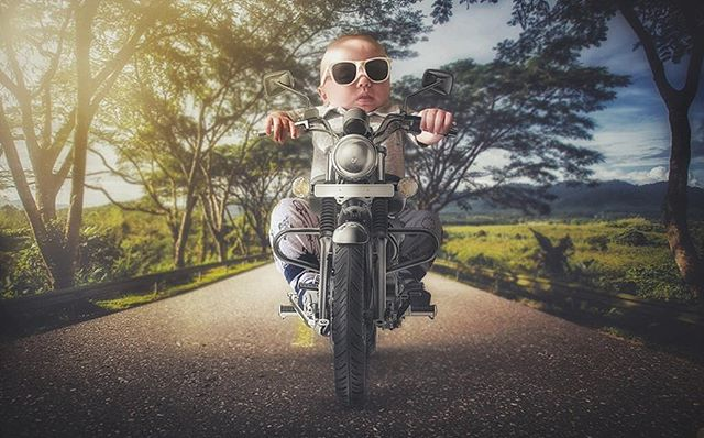 Thanks @jamie.a.b for your idea for little man to take a cruise on a motorcycle. ————————————————-————————— #whpdressup #ps_eerie #madewithcc #motorcycle #bikers #universalart #enter_imagination #awesome_surreal #edits_of_our_world #edit_grams #thecreativers #visual_creatorz #igcreative_editz #visualsmovement #enchantedchildhood #wildandfreechildren #manipulationclan #spooky #ourchildrenphoto #ourmoodydays #creative_ace #watchthisinstagood #strangertonez #leagueoflenses #2018babies #weeklyfluff #worldoflittles #mommyblogger #nationalsupermomsday2018
