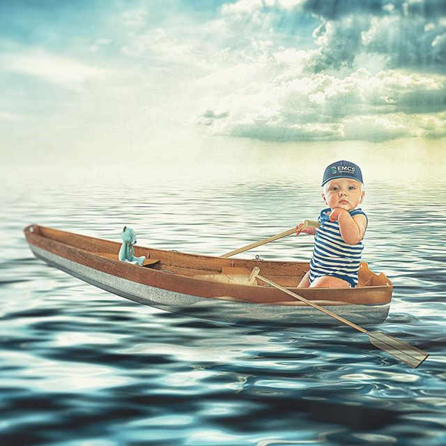 Sail the seas, live a full life little man. ————————————————-————————— #whpdressup #ps_magic #madewithcc #momlife #momlifebelike#universalart #enter_imagination #awesome_surreal #edits_of_our_world #edit_grams #thecreativers #visual_creatorz #igcreative_editz #visualsmovement #enchantedchildhood #wildandfreechildren #manipulationclan #instagrambabies #ourchildrenphoto #foodart #creative_ace #watchthisinstagood #strangertonez #leagueoflenses #2018babies #weeklyfluff #worldoflittles #mommyblogger #rowboat #xceptionaledits