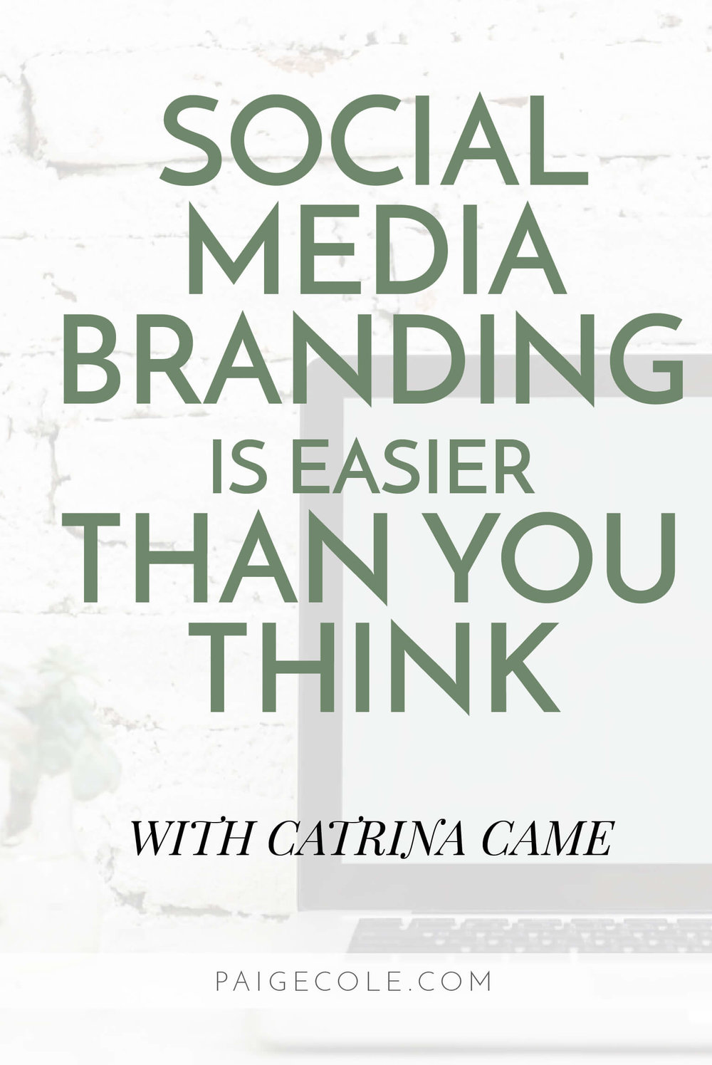 Social Media Branding is easier than you think. After all, it's an extension of you.