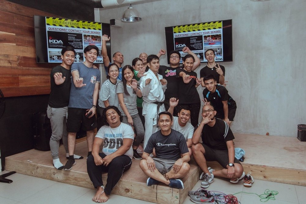 The hammerjack team after the KDA Mamoru Self-Defence Class facilitated by hammerjack's Prince Sy, 20 March 2019